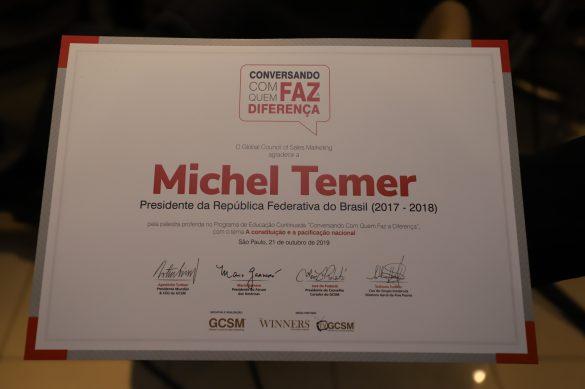 CCQFD – Michel Temer