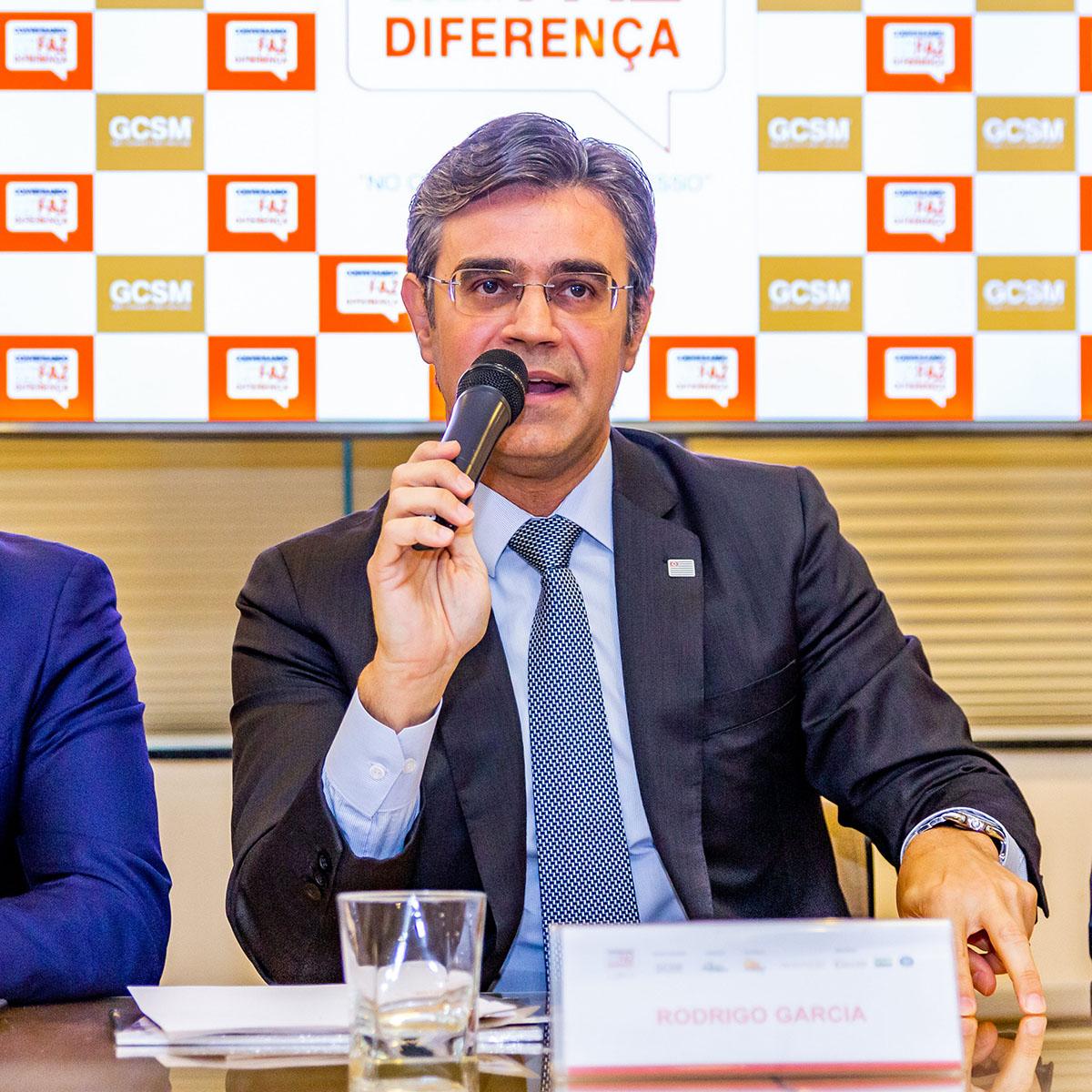 Paulo Dimas Debellis Mascaretti, Rodrigo Garcia